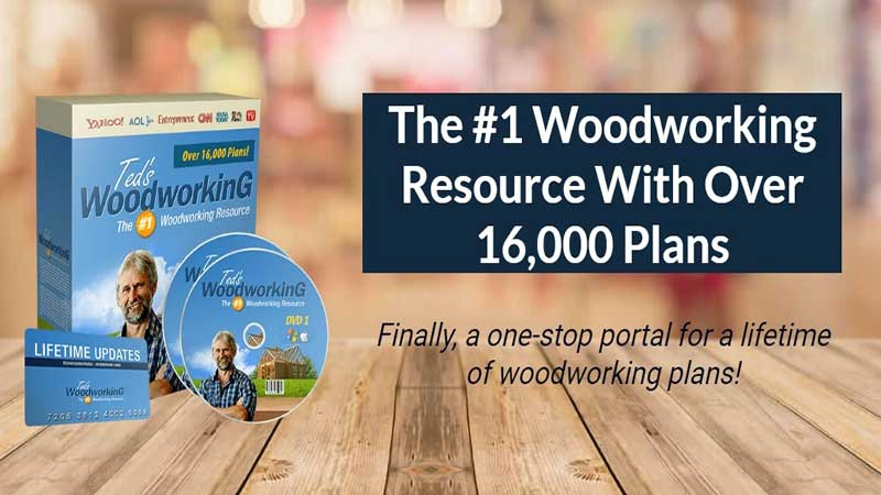 Ted's Woodworking Full Review, Save Water Team