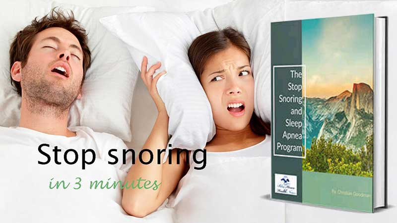 The Stop Snoring Exercise Program Full Review, Save Water Team