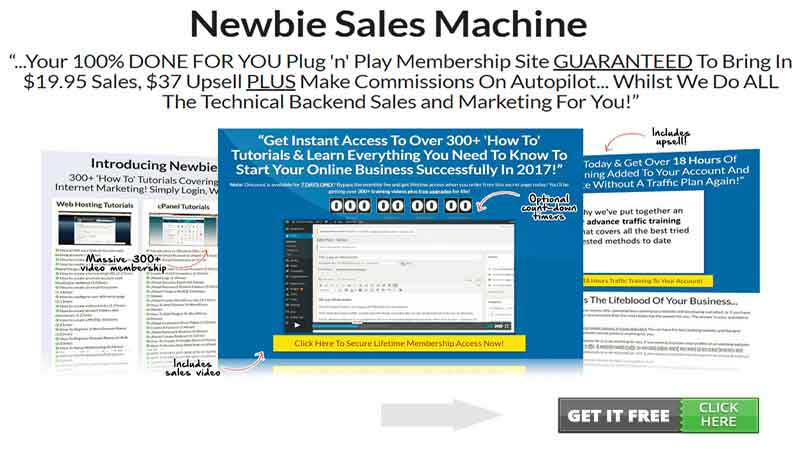 download Newbie Sales Machine pdf