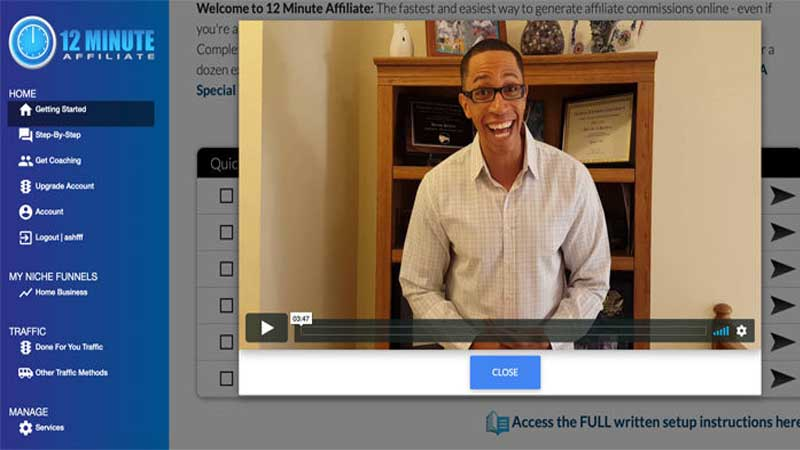 12 Minute Affiliate Review download free pdf