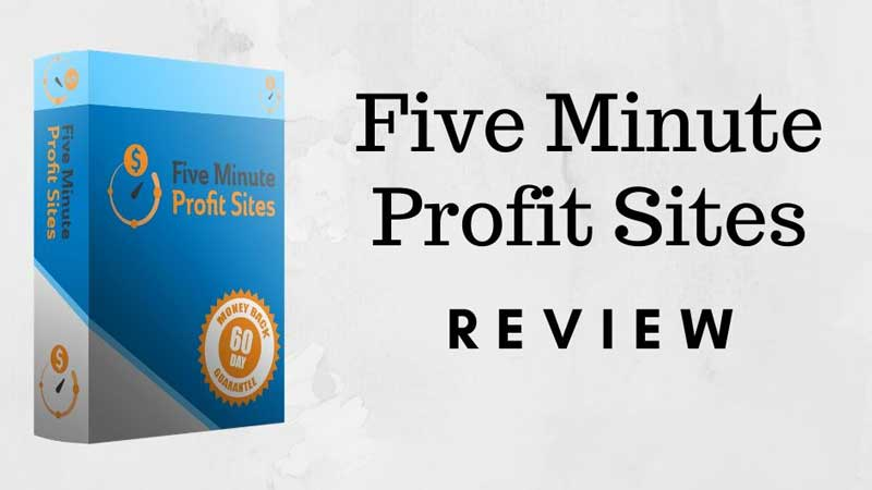 Five Minute Profit Sites Full Review, Save Water Team