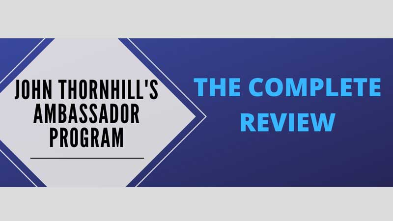 John Thornhill Ambassador Program Full Review, Save Water Team